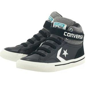 Converse Pro Blaze Leather Strap High-Top Sneaker